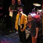 Olavi juontokeikalla Finnish Blues Awardsissa 21.3. 2015 Virgin Oilissa Helsingissä. Elämäntyöpalkinto ojennettiin Eero Raittiselle, Davide Floreno ja Esa Kuloniemi todistajina.